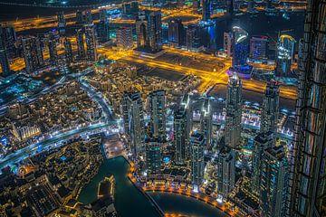 A night in Dubai.... van Peter Korevaar