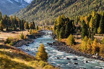Herfst in Zwitserland van Achim Thomae