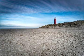Vuurtoren Texel vanaf strand