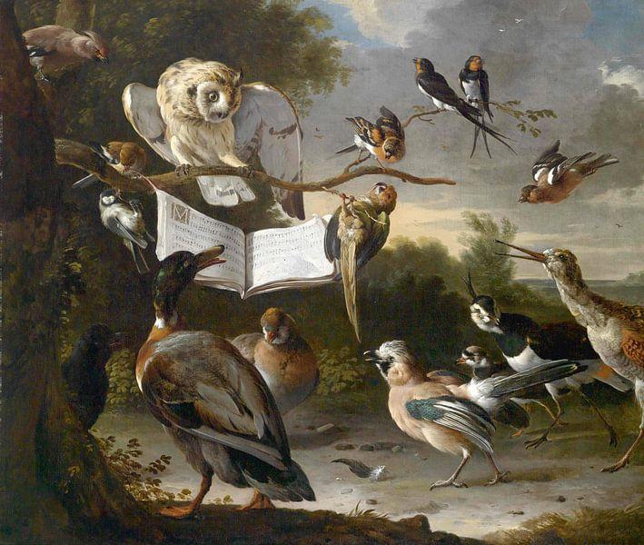 Vogelconcert van Meesterlijcke Meesters