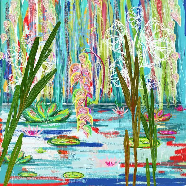 Der Teich von Nicole Habets