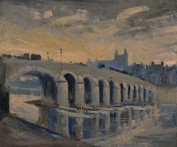 De Maasbrug in Maastricht