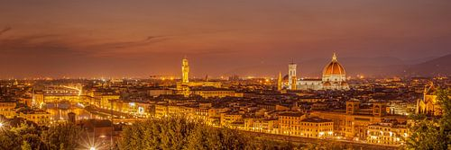 Skyline Florence at night II