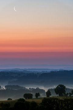 Sonnenaufgang Allegre - Frankreich von Henk Verheyen