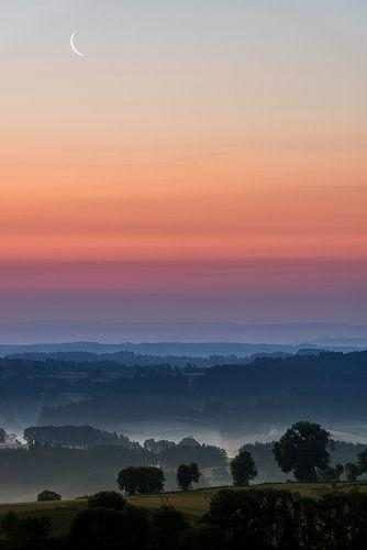 Sonnenaufgang Allegre - Frankreich