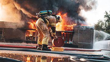 Zeer grote brand in Soesterberg van Damian Ruitenga
