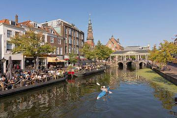 Die Koornbrücke in Leiden von Charlene van Koesveld