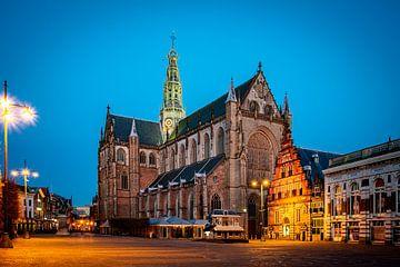 Grote Mark in Haarlem - kleur