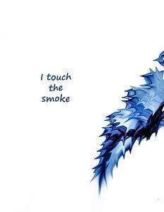 i touch the smoke von Annemarie Welp