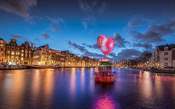 I Love Amsterdam sur Michiel Buijse