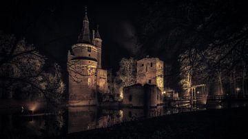 Château Duurstede et tour bourguignonne sur Mart Houtman