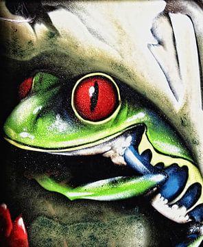 Frog von Harrie van der Meer