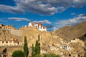 Lamayuru klooster, Ladakh, India van Jan Fritz