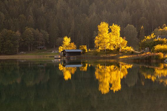 Hintersteiner See im Spätsommer van Jan Schuler