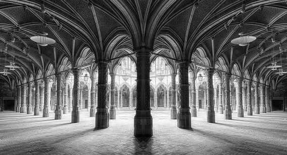 Pilarengalerij Chambre du Commerce van Marcel van Balken