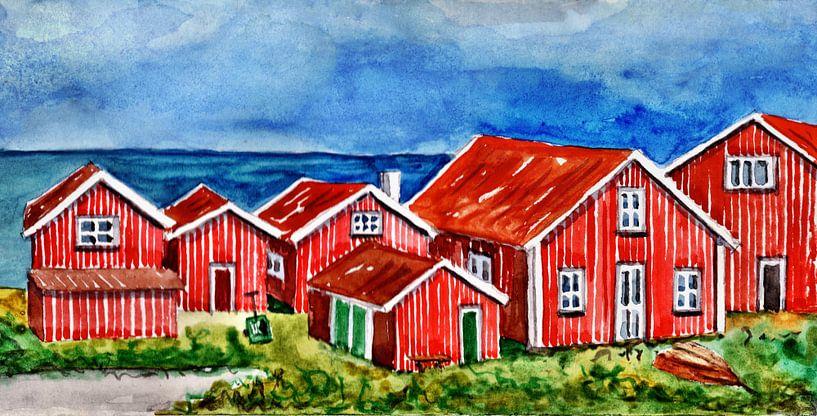 Op het eiland Orust van Thomas Suske