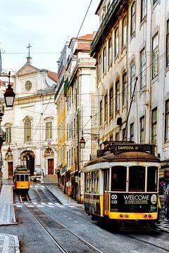Vintage Lissabon van Madan Raj Rajagopal