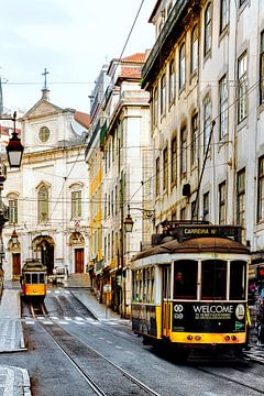 Vintage Lisbon sur Madan Raj Rajagopal