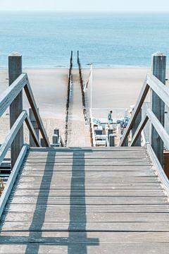 Zum Strand von Westkapelle (Zeeland, Holland) von Fotografie Jeronimo