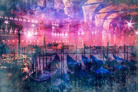 City-Art VENICE Composing von Melanie Viola