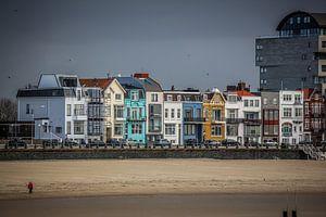 Kleurrijke boulevard van Vlissingen