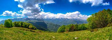 Panorama der italienischen Alpen von Björn Jeurgens