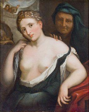 Paris Bordone, Versuchung - 1550 von Atelier Liesjes