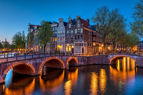 Hoek Keizersgracht Leidsegracht Amsterdam