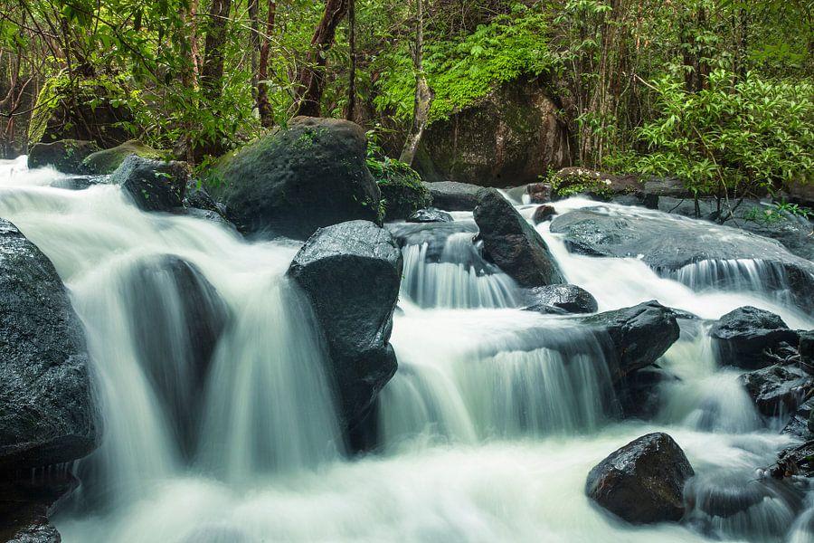 Suoi Tranh waterval van Jaap van Lenthe