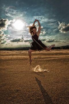 Ballerina Sprong von Chau Nguyen