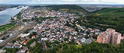 Bingen am Rhein, Luftbild Panorama (08.2020) von shop.menard.design - (Luftbilder Onlineshop)