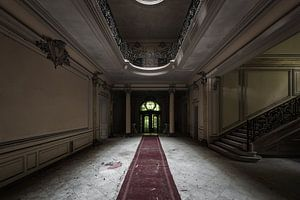 Vervallen chateau van Maikel Brands