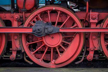 Locomotief wiel kleur van Ron Meijer