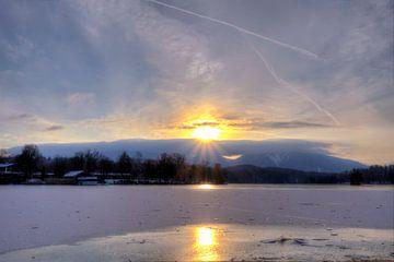 Eiszeit am Staffelsee in Murnau von Roith Fotografie