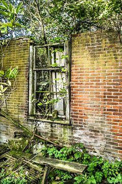 bouwvallig raam van Willem Visser