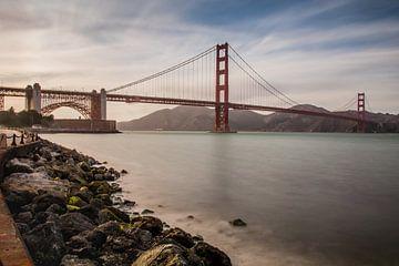 Golden gate bridge, San Francisco van Robert Dibbits