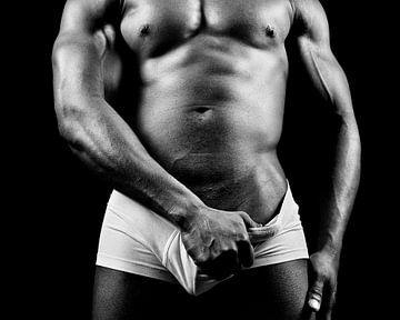 Schöner Mann mit nacktem Oberkörper #9153 von william langeveld