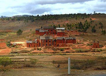 Madagassisches Dorf van Katharina Wieland Müller