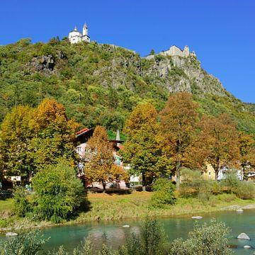 Kloster Säben hoch über Klausen im Eisacktal von Gisela Scheffbuch