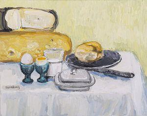 Ontbijt met kaas van Tanja Koelemij