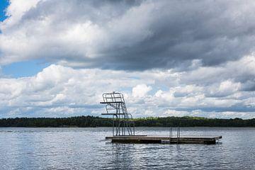 Badestelle an der schwedischen Küste von Rico Ködder