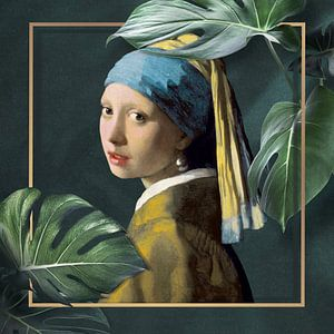 Girl with the Pearl Earring - The Modern Chic Edition
