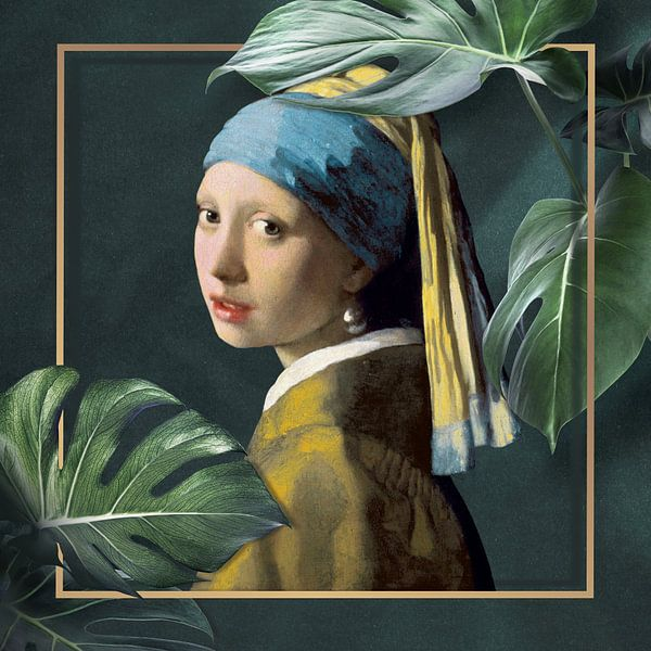 Girl with the Pearl Earring - The Modern Chic Edition von Marja van den Hurk