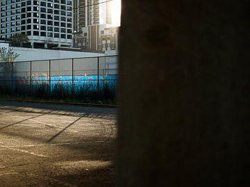 'Achter de muur', Chicago van Martine Joanne