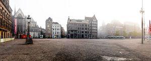 De Verlaten Dam van Amsterdam van