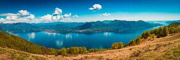 Lago Maggiore Panorama von Martin Wasilewski