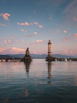 Hafenansicht Insel Lindau von Stefan Feenstra