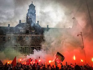 Feyenoord KNVB Beker Huldiging Rotterdam van Peter Lodder