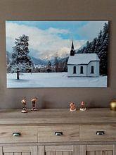 Klantfoto: Kapel in het Lech-dal van Denis Feiner, op canvas