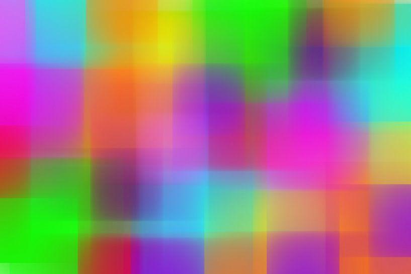 Kleurblokken van Wim Beunk